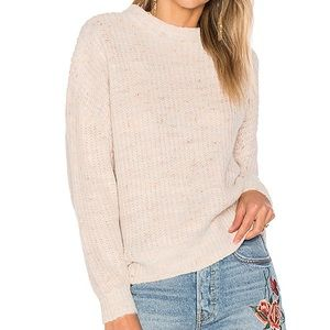 x REVOLVE Willoughby Pullover in Ivory Multi